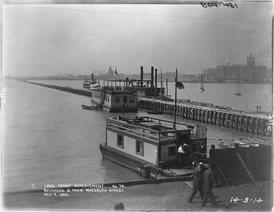 2010.030.PC01.28--lee hastman collection 8x10 print--ICRR--Company Photograph Lake Front Improvements Series--Chicago IL--1896 0707