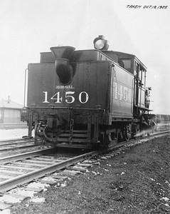 2010.030.PC20.009--lee hastman collection 8x10 print--ICRR--Co Photo view of steam locomotive 2-6-4T 1450--location unknown--no date