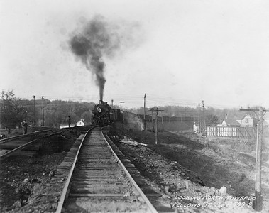 2010.030.PC26.07--lee hastman collection 8x10 print--ICRR--Co Photo view of stream locomotive 1625 on freight train action--location unknown--1929 1120