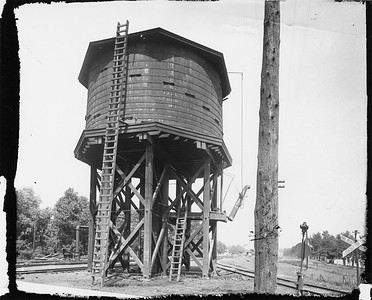 2010.030.PC16.02D--lee hastman collection 8x10 print--ICRR--Co Photo view of water tank--Clarksdale MS--no date