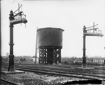 2010.030.PC99.02--lee hastman collection 8x10 print--ICRR--Co Photo view of water tank--location unknown--no date