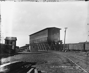 2010.030.PC99.33--lee hastman collection 8x10 print--ICRR--Co Photo view of coal dock--location unknown--no date