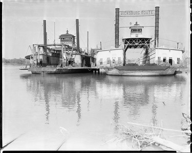 2010.030.PC99.05--lee hastman collection 8x10 print--ICRR--Co Photo view of steam car ferry Albatross--location unknown--no date