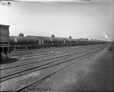steel tank cars--no location