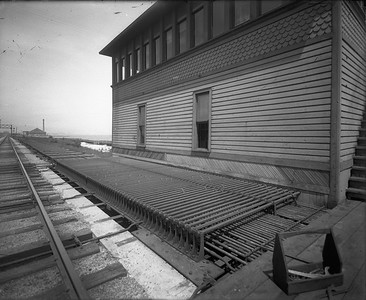 interlocking tower mechanical rods at 43rd Street--Chicago IL