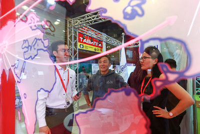 """2019 оны есдүгээр сарын 27. """"ICT Expo 2019"""" үзэсгэлэн нээлтээ хийлээ.  ГЭРЭЛ ЗУРГИЙГ Б.БЯМБА-ОЧИР/MPA"""