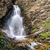 Falls on N. Fk. Big Creek, Lemhi Range
