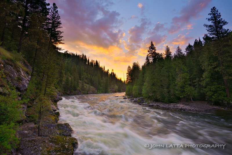 Selway River Sunrise