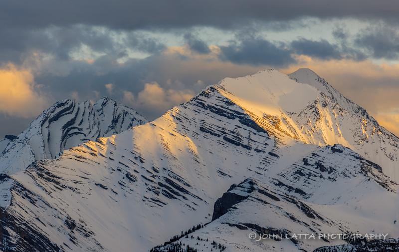 Evening Light on High Peaks