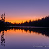 Dawn at Alice Lake