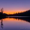 Dawn at Alice Lake