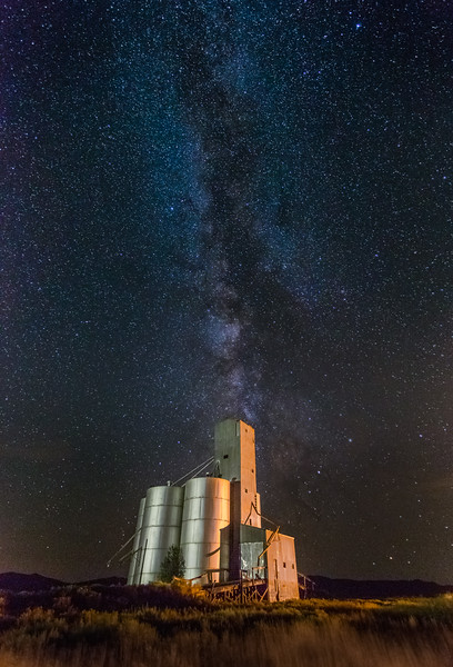 Hill City Granary hosting the Galactic Core