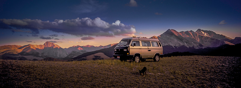 Ultimate car camping in the Lost River Range