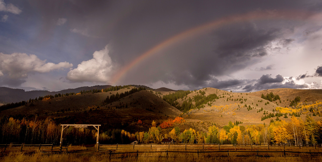 Steve McQueen's Last Chance Ranch in Autumn