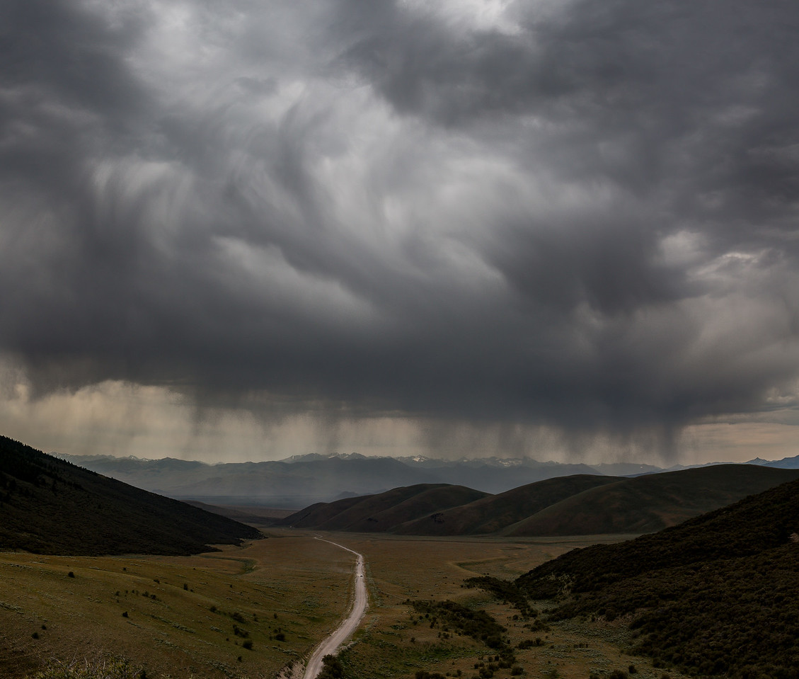 Summer Squall over Copper Basin