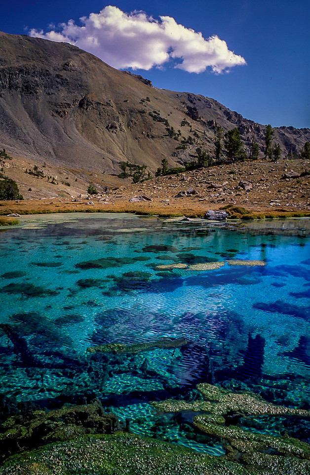 Boulder Mts Blue Pool