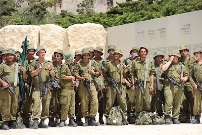 Soldiers at Latrun