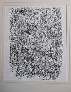 IDeasyncrasies III.  Quill Pen and Ink.  Signed, available as Giclée in limited edition of 10.