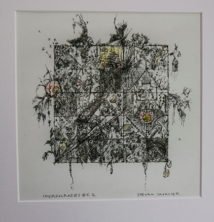 IDeasyncrasies VI.  Quill Pen and Ink.  Signed, available as Giclée in limited edition of 10.