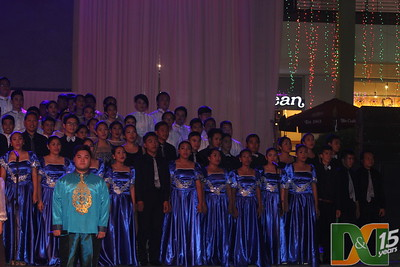 IEC Grand Show Choir, Terraces