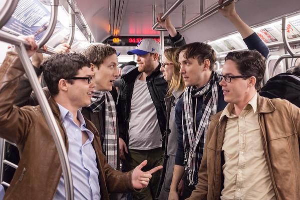 Improv Everywhere: Time Travel Subway Car
