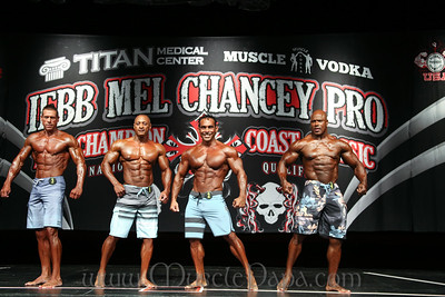 Pro Men's Physique Prejudging