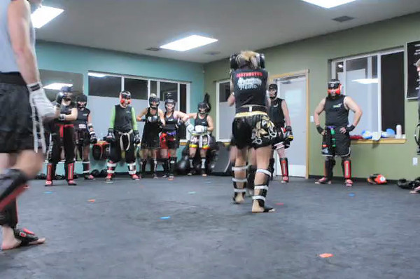 Sparring video. Click on the image to play.