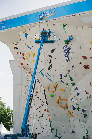 IFSC World Cup in Innsbruck, June 2021   ©Lena Drapella