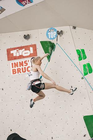 IFSC World Cup Lead Qualis  in Innsbruck, June 2021 | ©Lena Drapella