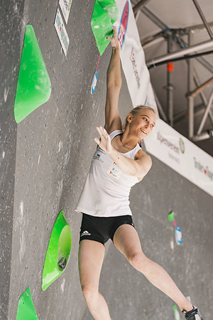 IFSC World Cup Boulder Qualis  in Innsbruck, June 2021 | ©Lena Drapella