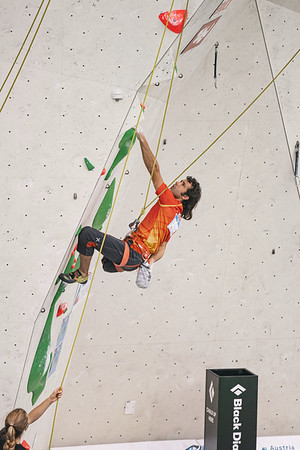 IFSC Paraclimbing World Cup in Innsbruck, June 2021   ©Lena Drapella
