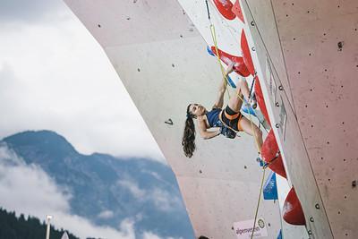 IFSC World Cup Lead Finals in Innsbruck, June 2021 | ©Lena Drapella