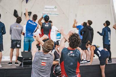 IFSC World Cup Lead Semis in Innsbruck, June 2021 | ©Lena Drapella