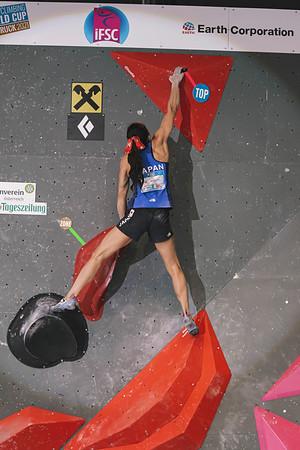 IFSC World Cup Boulder Finals in Innsbruck, June 2021 | ©Lena Drapella
