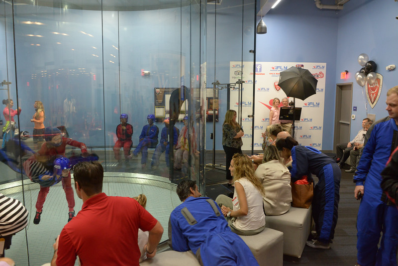 iFLY Houston Christmas in July 2017