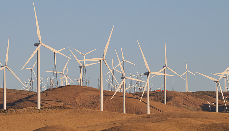 Wind Turbines in Tehachapi CA
