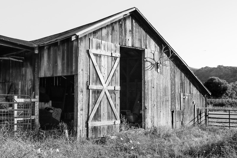 Old Barn Near Nojoqui Falls, CA
