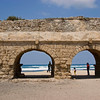View to the Mediterranean Sea at Caesarea