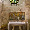 Room where Jerome translated the Vulgate.