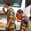 Israeli soldiers eating ice cream