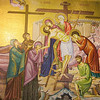 Mosaic at Church of the Holy Sepulchre 01