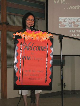2009-07-20 PIM Chapel