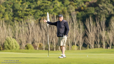 Image of Ian Waddell taken at Royal Wellington Golf Club, Heretaunga, Wellington, New Zealand, on 9 August 2020.   Copyright John Mathews 2020   +64 2744 54321