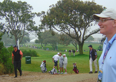 20080610 Tiger & Ian Waddell - US Open DSC07766 MIKES