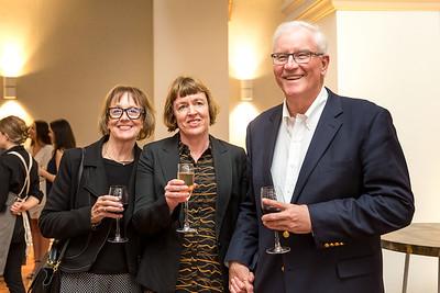 Karyn & Marie Cosgrove with Ian Waddell at the soft opening of Public Trust Hall, Wellington, New Zealand held on Saturday 12 October 2019. Photos by John Mathews,    www megasportmedia.co.nz