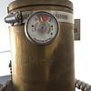 Heptafluoropropane aka FM 200 aka HC 227 clean agent Halon replacement tank in unit 5