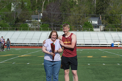 IHS Track and Field Senior Night 5-9-18