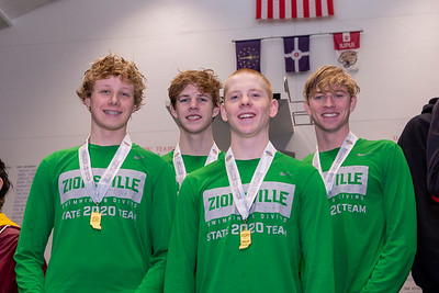 200 Medley Relay_3rd Place (Zionsville)