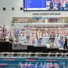 100 Backstroke winners podium