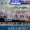 200 Medley Relay winners podium